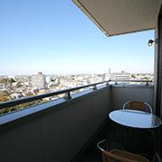 上層階からの眺め【デイリーホテル 小江戸川越店】